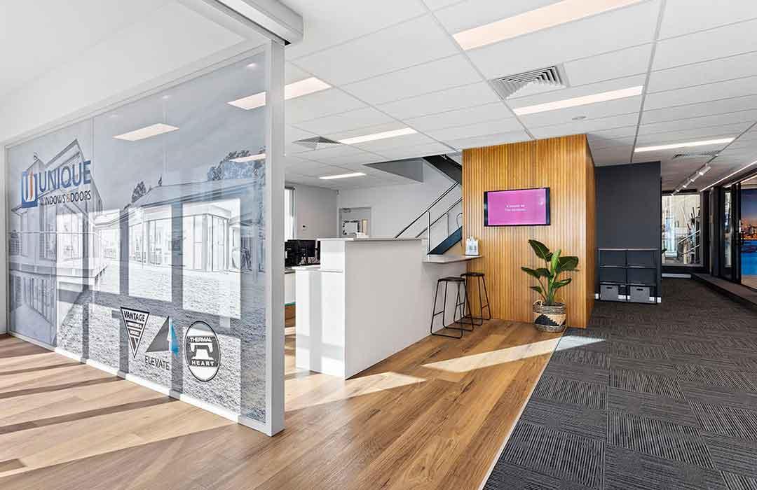 Unique Windows & Doors Office area