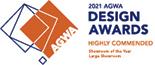 AGWA large showroom award 2021